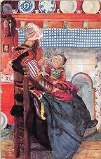 POSTCARD  CHILDREN    HOLLAND    Mother's  Little  Dutch         TUCK