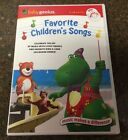 Baby Genius - Favorite Children's Songs - New DVD w/ Bonus Music CD