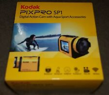 Kodak PIXPRO SP1 - 14mp/1080p Action Cam w/Aqua Sport Accessories - YELLOW - NEW