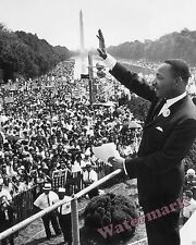 Photograph MLK  Dr. Martin Luther King 1963 March on Washington  DC  8x10