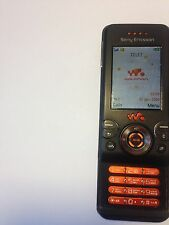 Used Sony Ericsson Walkman W580i - Boulevard black Unlocked