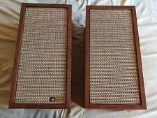 VINTAGE LANCER BY SOUNDCRAFTSMEN HIGH FIDELITY SPEAKERS MODEL 9711 TESTED