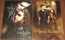 Movie Poster Lot Twilight New Moon Edward Bella Robert Pattinson Kristen Stewart