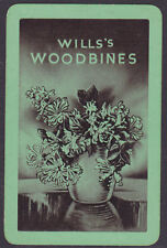 Wills's Woodbines Cigarette Advertising Single Playing Card