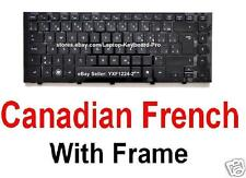 HP Probook 4310s 4311s Keyboard - Canadian French CF Frame 535308-121 577205-121