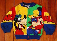 Disney Retro Mickey's Stuff Mickey Mouse Goofy Pluto Color Block Kids Jacket 18M
