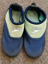 Boys speedo swimming pool shoe size 2 used