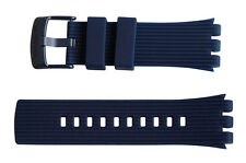 "ORIGINALE Swatch Touch Bracciale ""SWATCH TOUCH DARK BLUE"" (asurn 101) MERCE NUOVA"