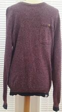 """Urban Outfitters/Shore Leave"" Burgund/Red Marl Long Sleeved Jumper, size:S-used"
