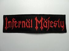 INFERNAL MAJESTY EMBROIDERED  PATCH