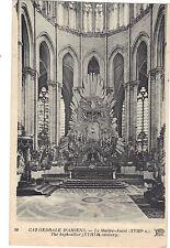 80 - cpa - La Cathédrale d'AMIENS - Le Maître Autel