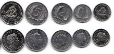 EAST CARIBBEAN STATES 6 PIECE UNCIRCULATED COIN SET, 0.01 TO $1