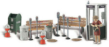 Woodland Scenics HO Scale Scenic Accents Detail Set - Street Accessories/Items