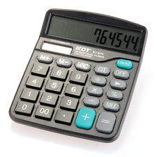Calculatrice Calculette de Poche Energie Solaire Optique Pile 12 Chiffres