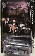 Hot Wheels CUSTOM VW DRAG BUS Addams Familly LAX Convention RR LTD #7 of 10 Made