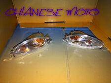 COPPIA FRECCE BIANCHE  ANTERIORI PIAGGIO X9 180 AMALFI 2000 2002.
