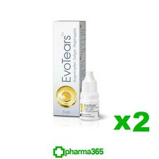 EVOTEARS 2 X 3ML EYE DROPS