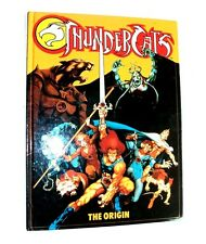Vintage 1987 Classic THUNDERCATS : THE ORIGIN Hardback Uk Annual style RARE