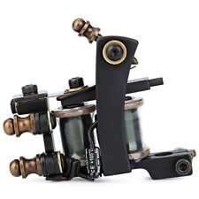 Professional 12 Wrap Coils Iron Liner Gun Electric Tattoo Machine Classic Frame