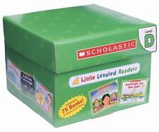 75 Leveled Easy Guided Readers Level D Box Set LOT Kindergarten Grade 1 First