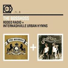 THE BOSSHOSS - 2 For 1 Rodeo Radio/Internashville Urban Hymns -- 2 CD  NEU & OVP