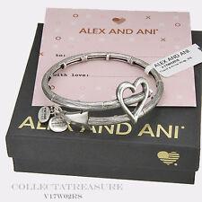 Authentic Alex and Ani Cupid's Arrow Wrap Rafaelian Silver Wrap