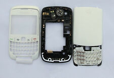 White Housing cover faceplate case fascia facia for BlackBerry Curve 8520 white