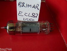 ECL82 BRIMAR  USED OLD STOCK VALVE TUBE 1PC M15