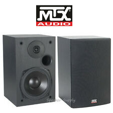 "MTX Audio Monitor5i Bookshelf Speakers 5.25"" 2 Way Loudspeaker Home Theater Pair"