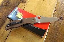 NEW Spyderco C90GBNPE2 Stretch Folding Pocket Knife Brown G10 ZDP189 Blade JAPAN