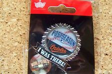 2014 Baltimore Orioles Postseason I Was There pin MLB post season AL
