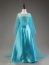 ELSA FROZEN DRESS FOR BABY GIRL KIDS  BIRTHDAY, PARTY DRESSES 3-6 Years SIZE 120