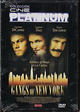 Martin Scorsese GANGS OF NEW YORK. Edición diarios.