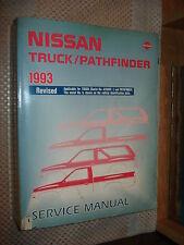 1993 NISSAN TRUCK & PATHFINDER SERVICE MANUAL SHOP BOOK ORIGINAL WOW