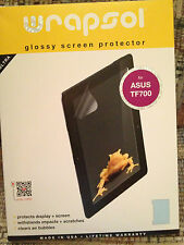 Wrapsol Glossy Screen Protector ASUS TF700 Tablet NEW SEALED