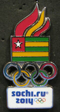 SOCHI 2014 Olympic TOGO dated delegation  team pin Very Scarce ONLY ONE LISTED