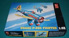 USAAC P-26C Fighter Hobby Craft 1/48 Complete & Unstarted.