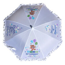 BABY SHOWER UMBRELLA PARASOL PERSONALIZED FREE