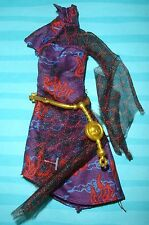 MONSTER HIGH JINAFIRE LONG SCARIS REPLACEMENT DRESS BELT ORIENTAL OUTFIT ONLY