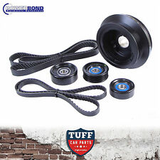 VE V8 Holden Commodore L98 LS2 LS3 6L 25% Underdrive Balancer & Pulley Kit 06-10