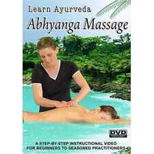 Learn Ayurveda Abhyanga Massage [DVD], Excellent Condition DVD, ,