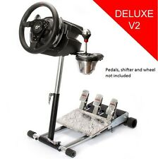Rugged Gaming Racing Wheel Stand for Thrustmaster T500RS- Deluxe Wheel Stand Pro