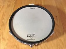 """ROLAND PD-120 WHITE V MESH 12"""" DRUM PAD, S/N CD14140, GOOD CONDITION"""