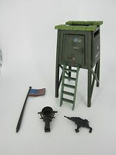 HASBRO VINTAGE 1984 G.I  JOE COBRA WATCH TOWER PLAY SET 100% COMPLETE LOOSE