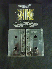 THE BEST OF SHINE RARE DOUBLE CASSETTE TAPE! MANIC STREET PREACHERS RADIOHEAD