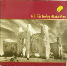 "12"" LP - U2 - The Unforgettable Fire - B868 - washed & cleaned"
