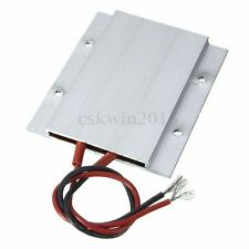 12V 60W 180C Aluminum PTC Heater Element Constant Heating Thermostat Plate NEW