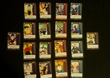 Panini dbz set 1 complete personality lot allies and MPs!