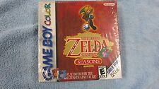 THE LEGEND OF ZELDA ORACLE OF SEASONS NEW SEALED GBC GAME BOY COLOR (H-SEAM)