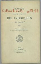 * Bulletin Société Nationale des Antiquaires de France,1957, Colbert de Beaulieu